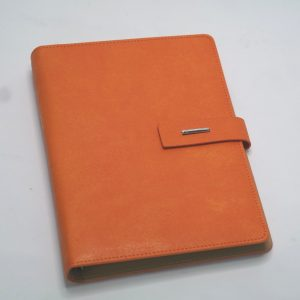 Agenda A5 PU oranje