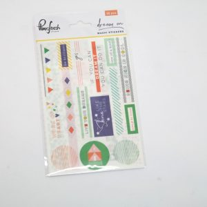 "Washi stickers ""dream on"""