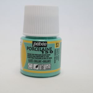 Porselein verf blauwgroen (45ml)