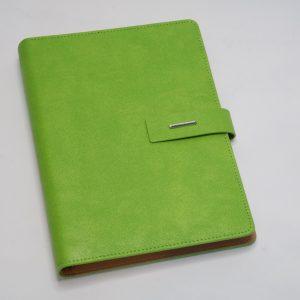 Agenda a5 – lime groen